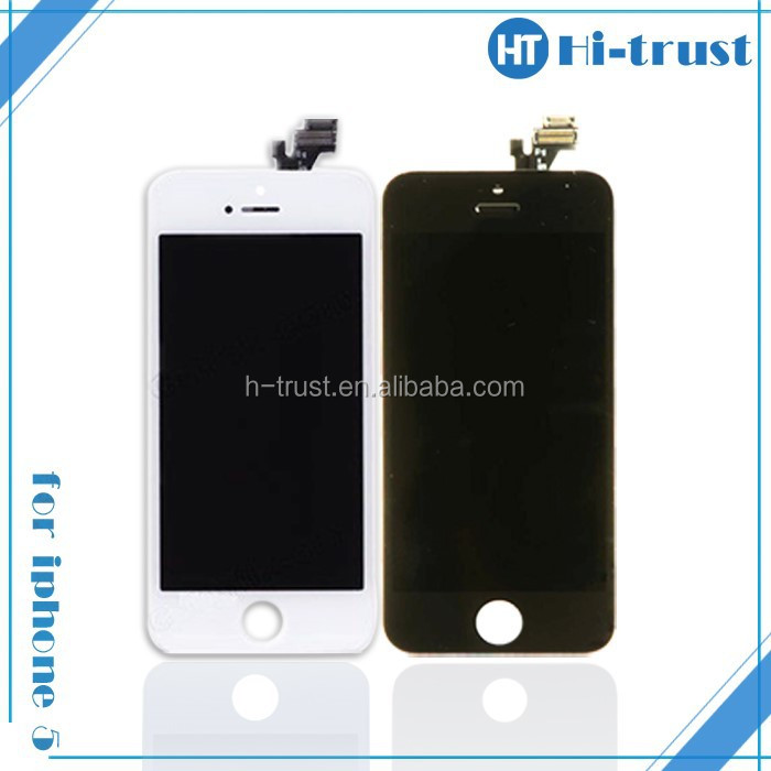 HOT SALE! DHL Free Shipping Full set lcd assembly for iphone 5
