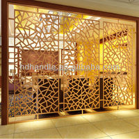 Interior decoration stainless steel room divider