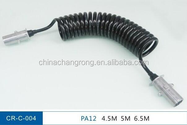 7 el ctrico remolque cable bobina 7 pin bobina el ctrica - Cable electrico barato ...