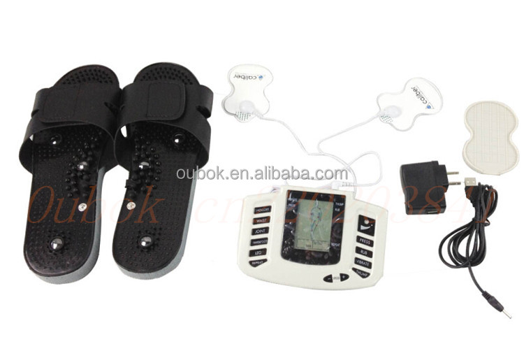 Latest stylish design! Tens acupuncture digital therapy machine massager