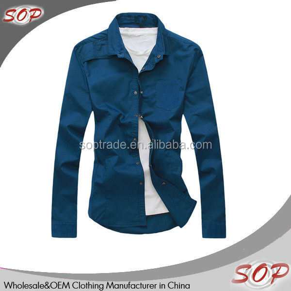 slim fit long sleeve gents fashion shirts dress for men china supplier