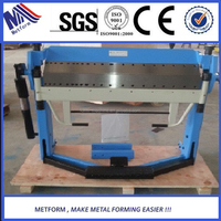 hand Bending machine Press Brake For steel box and Pan folding tools