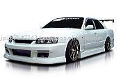 Auto Aero Parts INTRUDER series Made In Japan for NISSAN R34 SKYLINE 4DR