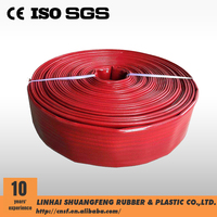 China supplier pvc flexible water hose high pressure discharge hose