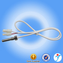 2 Meters 4 Core Silicone Wire Stainless Steel Heat Probe Infrared NTC Temperature Sensor 10K 15K 50K 100K