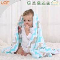 LAT 100% cotton muslin blanket blankets made in india