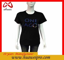 Alibab china customized bulk wholesale tee shirt printing company logo t shirts
