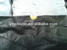 Hdpe plastic color garbage bags on roll