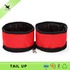 Elevated dog bowls eco-friendly foldable waterproof eco bag water feeder dog wholesale