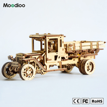 Moodioo environmental wood ugear mechanical drive 3d models toys for kids