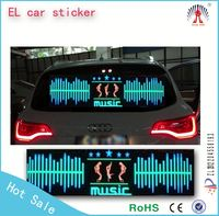 along with the voice changing el car sticker/ can be custom el car sticker/ 8000hours lifetime el car sticker