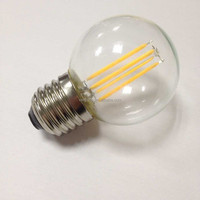 ETL UL cUL CE Rosh appoved 360 degree dimmable 2W/4W COB led filament G50 small bulbs lighting
