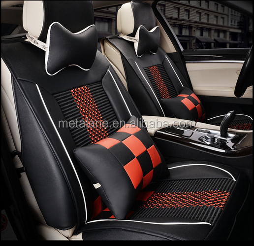 High quality luxury waterproof leather car seat cover
