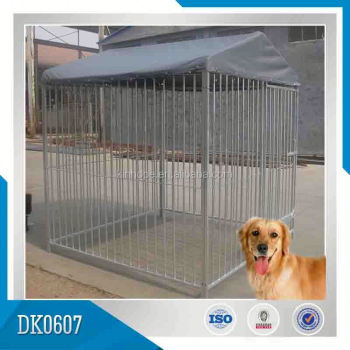 Large Outdoor Stainless Steel Dog Kennel