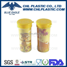 Factory wholesale logo printed plastic travel mug