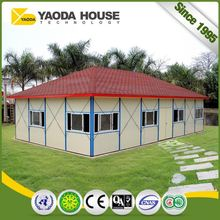 Labor Camp Small Prefabricated Steel Luxury Mobile Home Flexible Design Kit Homes Steel Structure Prefabricated House