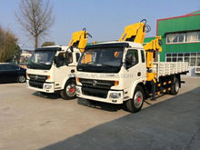 Dongfeng Vehicle-mounted Crane 4x2 truck crane