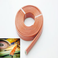 high temperature silicon fiberglass cable and sleeve
