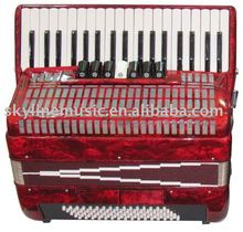 YW867 Parrot keyboard accordion,37K 80BS 5TA accordion