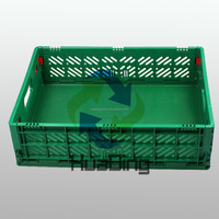 600x500x150mm Plastic Storage and Distribution attached lid container