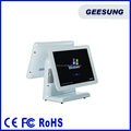 All In One Desktop Computer 15 Inch Dual Screen Pos Point of Sale Machine