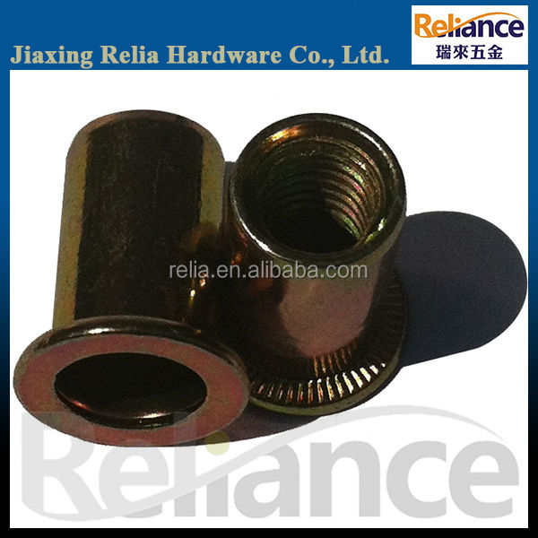 Knurled Head Rivet Nuts, Knurled Insert Nuts