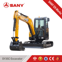 SANY SY35C 3.5t best price Small Cheap Mini Excavator with CE Certification