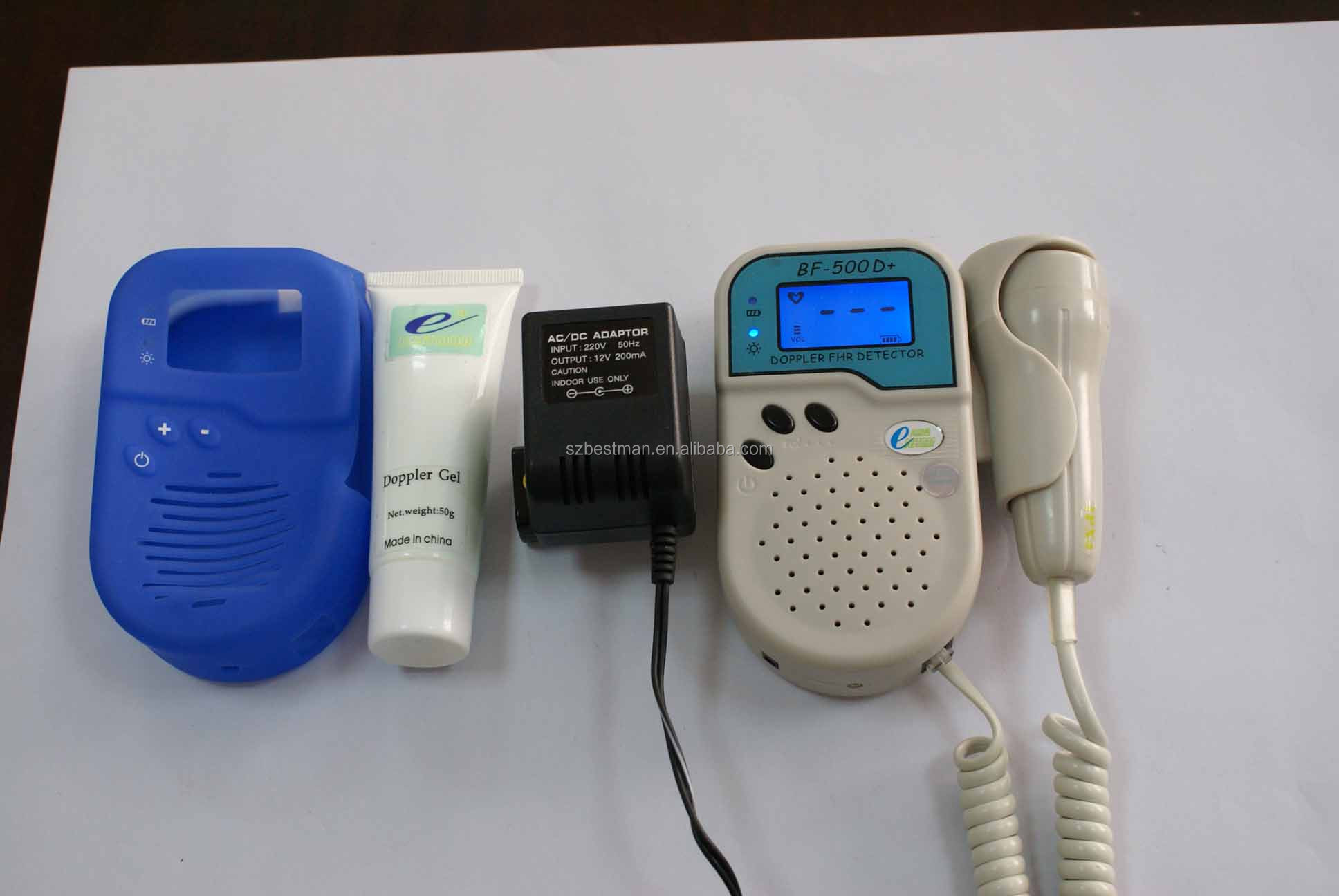 Bestman pocket fetal doppler for fetus heart detect CE model BF-500D+