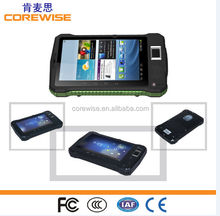 Cheapest 7inch A370 Rugged Tablet with nfc rfid function android GPS 3G fingerprint tablet waterproof rugged Tablet