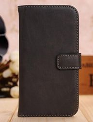 Luxury stand flip cover for iphone 6/genuine cow leather flip mobile phone case