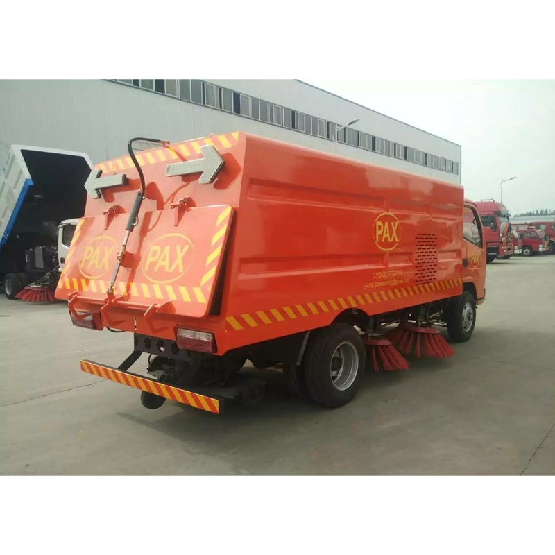dongfeng road sweeper 5M3 street sweeper truck for sale
