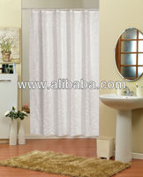 %100 POLYESTER SHOWER CURTAIN