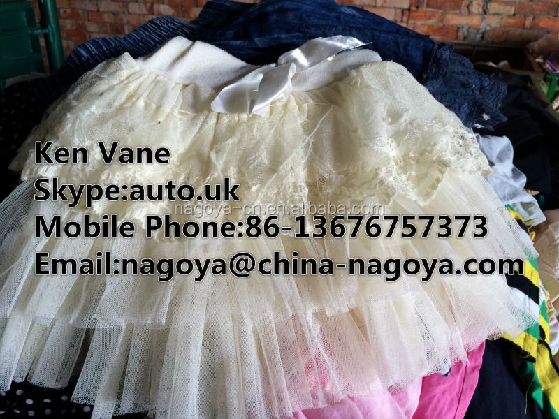 sorted bulk used clothing children dress, second hand clothes bulk hot sale,summer used clothes children dress