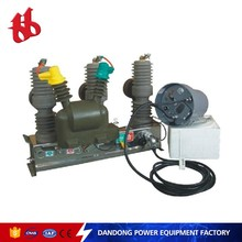 ZW32-12F/T630-25 outdoor types 4 pole earth leakage circuit breaker with auto recloser price