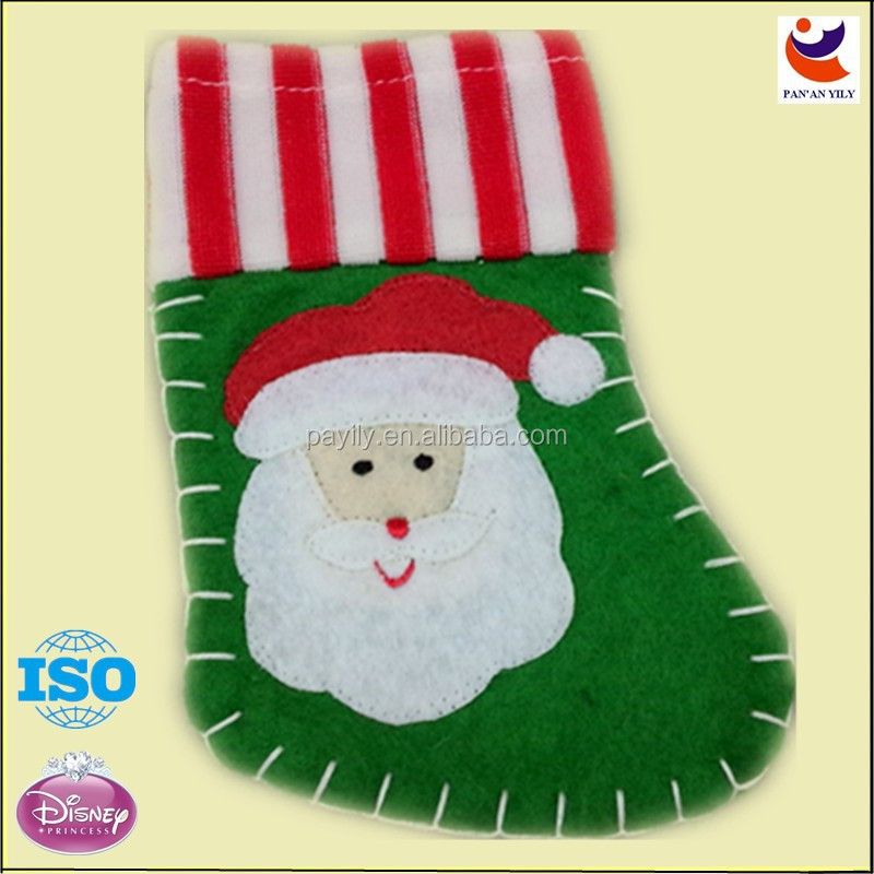 Factory outlets wholesale mini christmas stockings,christmas socks