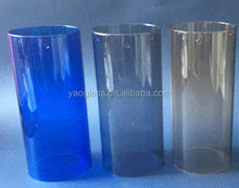 Borosilicate Color OD100mm glass cylinder lamp shade