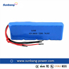 12v 2000mah 18650 li-ion battery packs for UPS / backup energy China