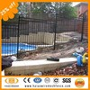 Low price high quality professional supplier of stepped fence with raked bottom