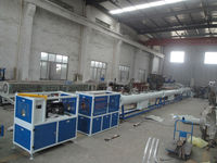 110-315mm PVC waste water pipe making machine 80/156