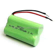 ni-mh. Rechargeable Battery packs 1500mAh 2.4v aa