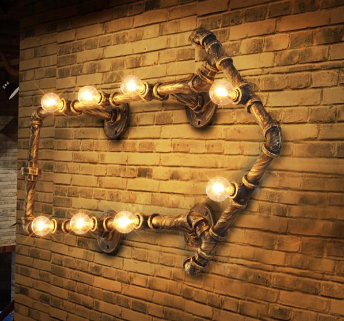 Вариант настенного освещения в лофт стиле