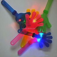 Light up flashlight led plastic clapper