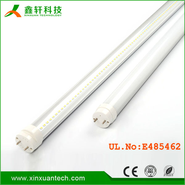 Direct replacement led 4 foot 18watt t8 tube ballast compatible