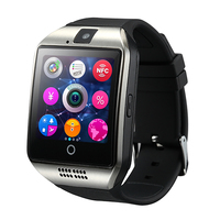 touch Screen GSM/GPRS 850/900/1800/1900 Network Q18 android Smart Watch phone