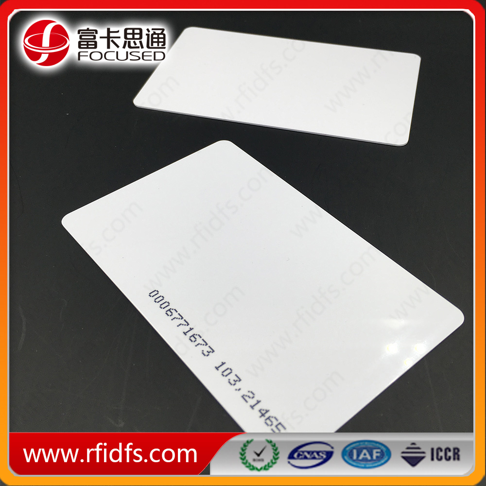 Mifare Classic 1K blank hotel key cards pvc cards