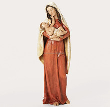 Holy virgin mary and baby jesus statue for sale