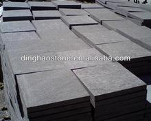 China black granite paving slabs non-slip