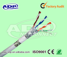 ADP/OEM high quality PVC/LSZH 4 pair SFTP shielded CAT7 network cable