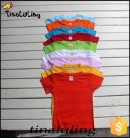 best selling cotton kids bulk blank t-shirts wholesale plain t shirts for painting