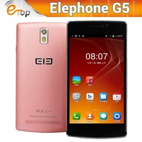 "New 5.5"" Elephone G5 HD IPS Screen Android 4.4.2 Smartphone 8GB Unlocked 4 Core"